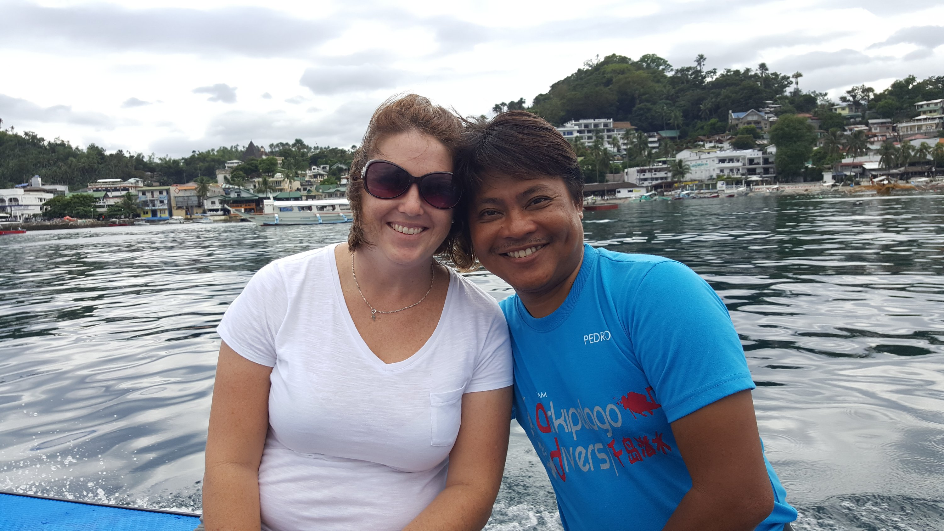 Amy and Pedro Magsino of Arkipelago Divers