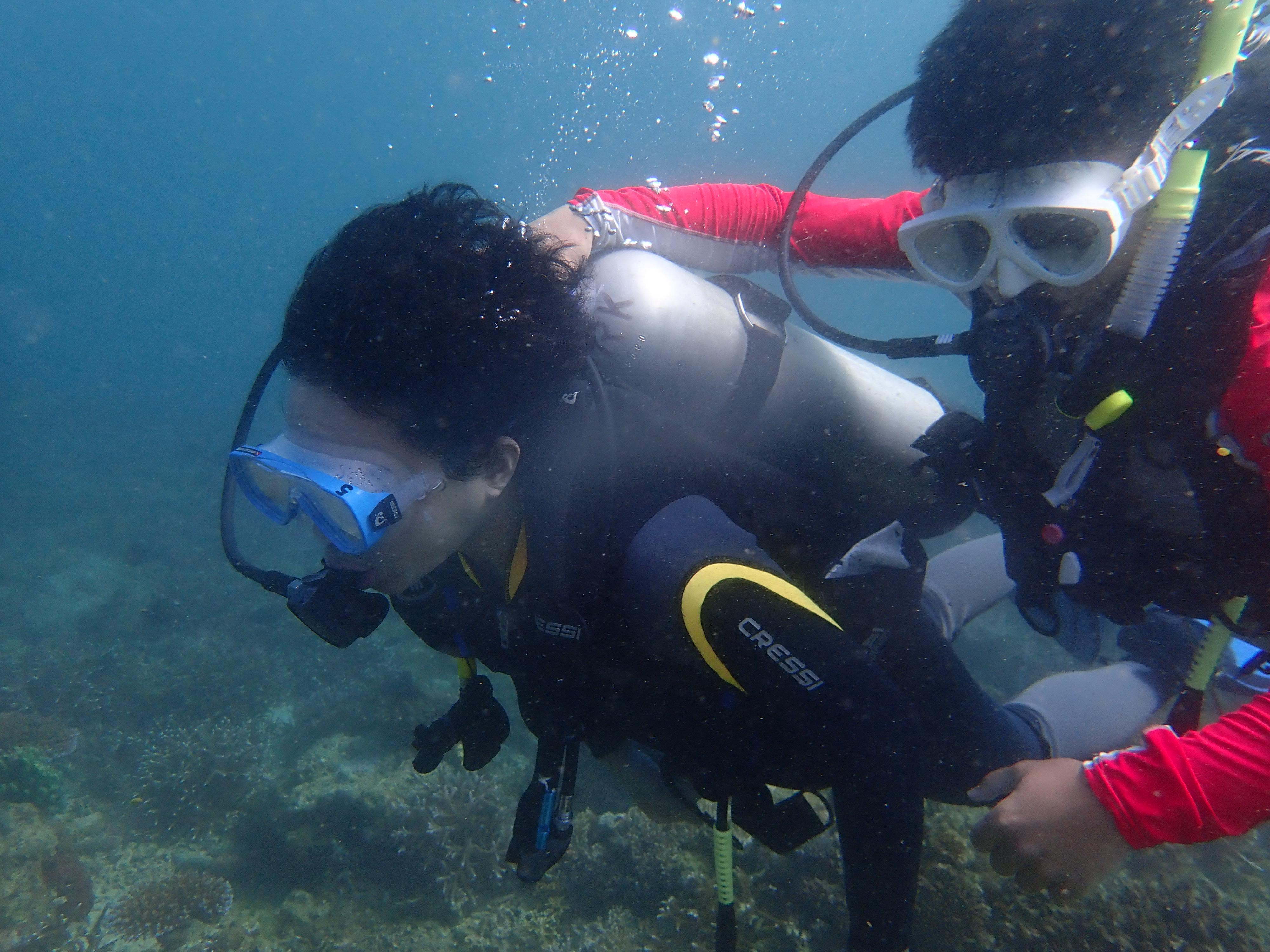 Discover Scuba Diving. Joel Andrada