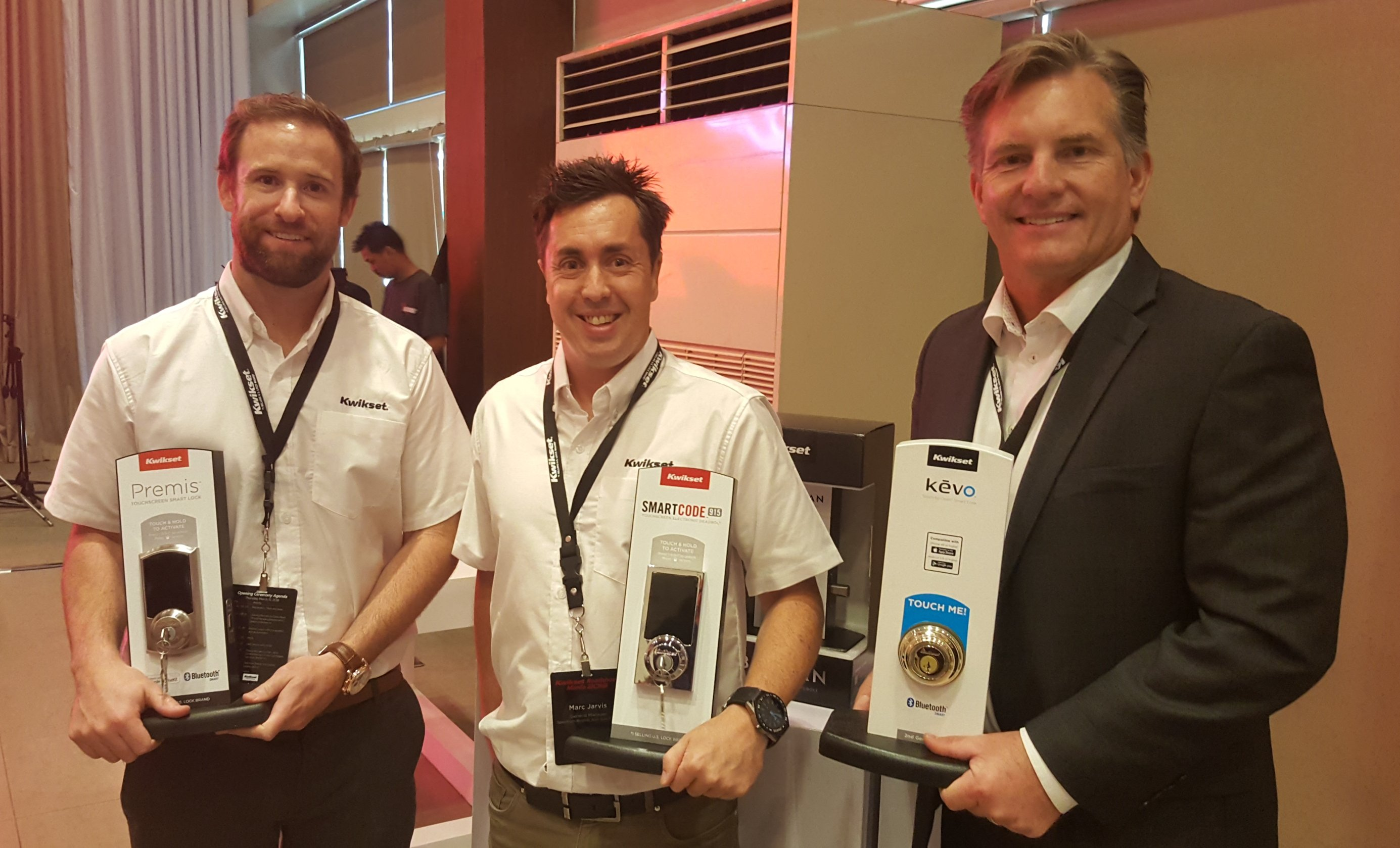 (From Left to Right) Kevin Sander, International Brand Manager, Marc Jarvis, General Manager of Asia Sub Region and Dave Alber, Vice President and Managing Director of APAC Spectrum Brands Inc.,