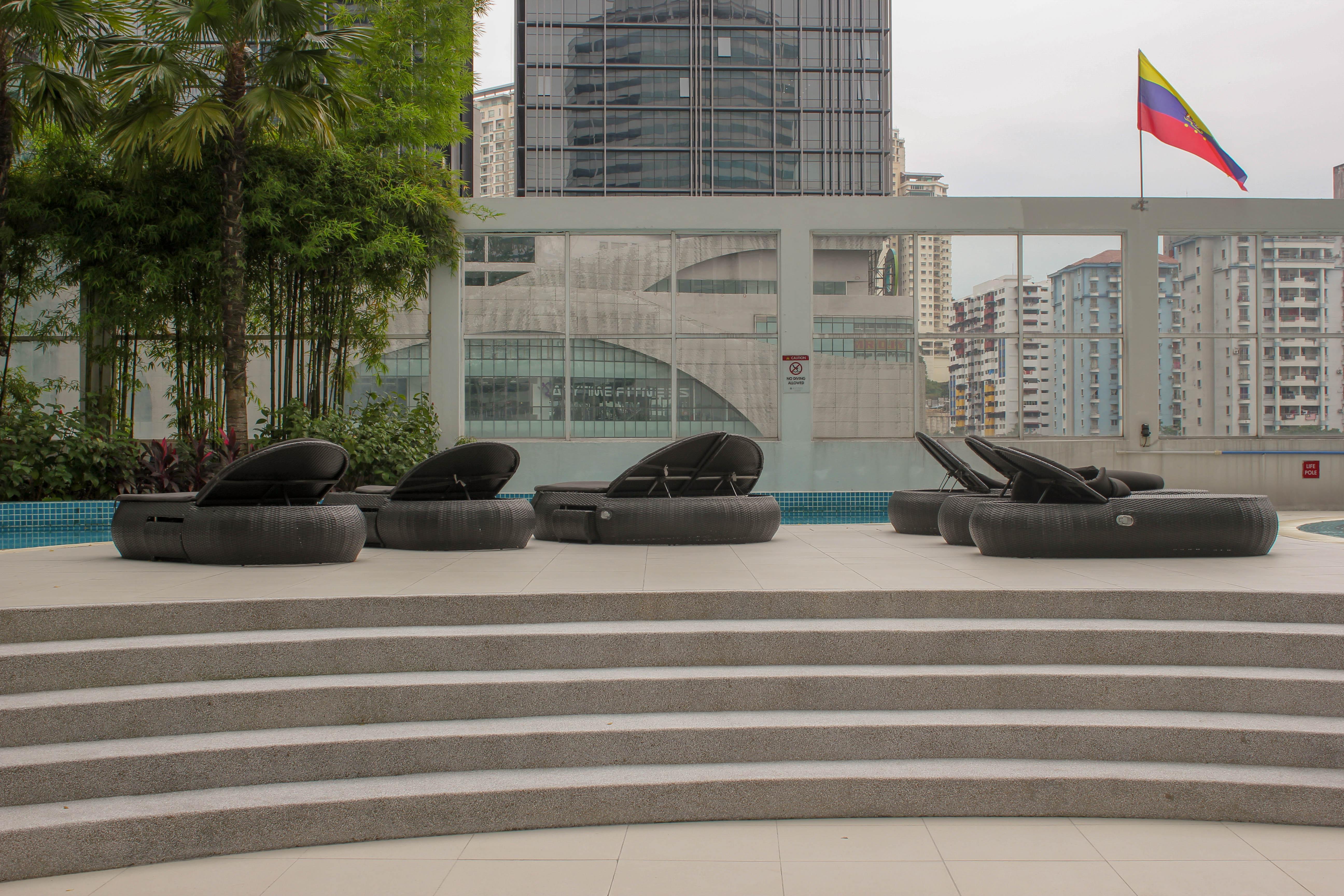 Poolside of Pullman KL Bangsar Hotel