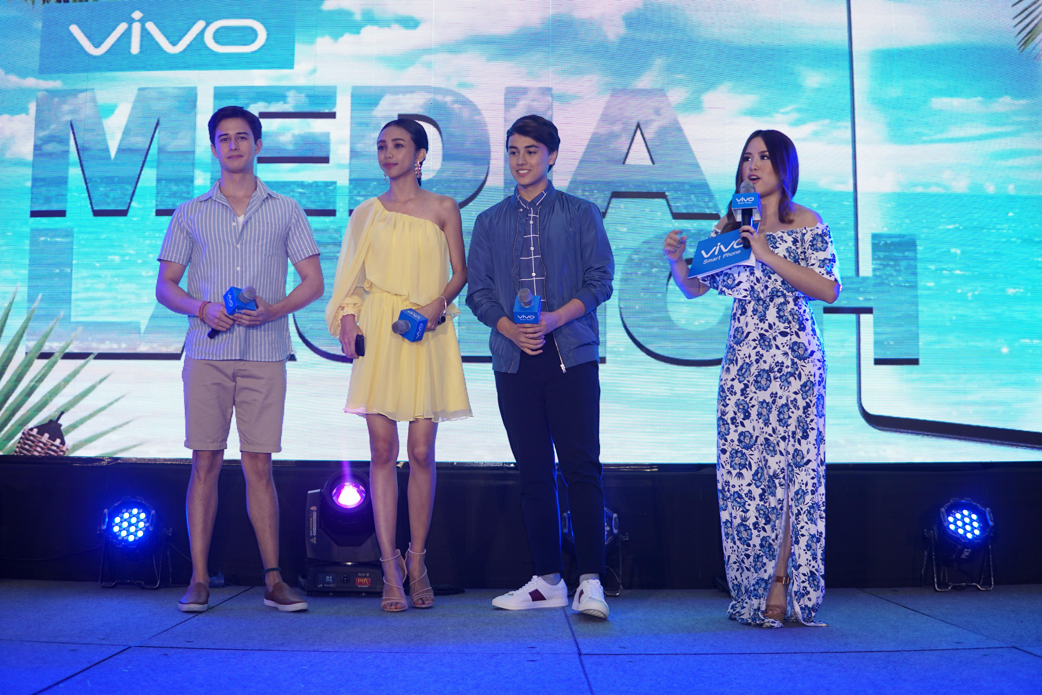 Vivo also introduced its newest endorsers, Ivan Dorschner and Edward Barbe