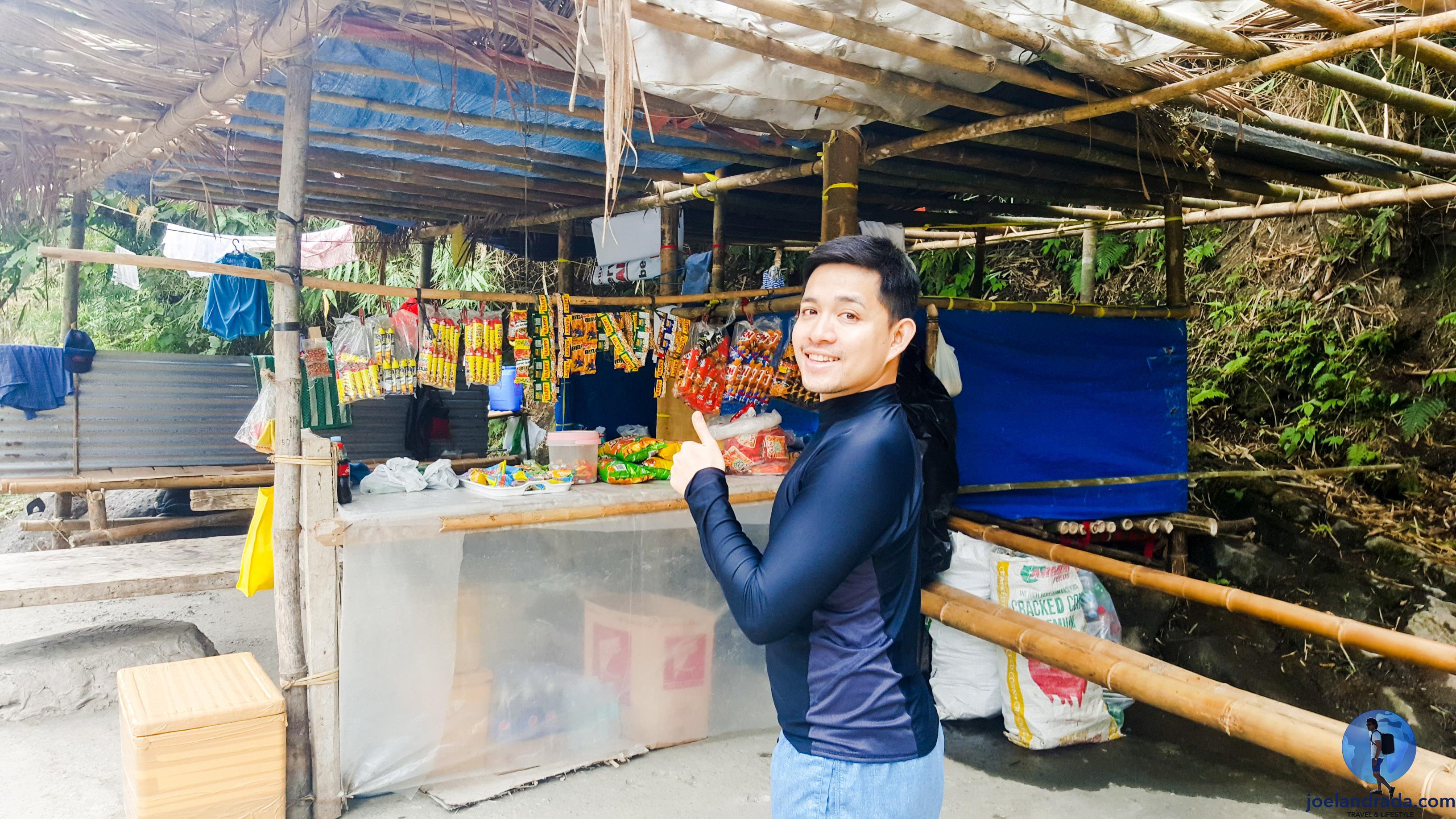 Tangadan Falls Trek Vendor