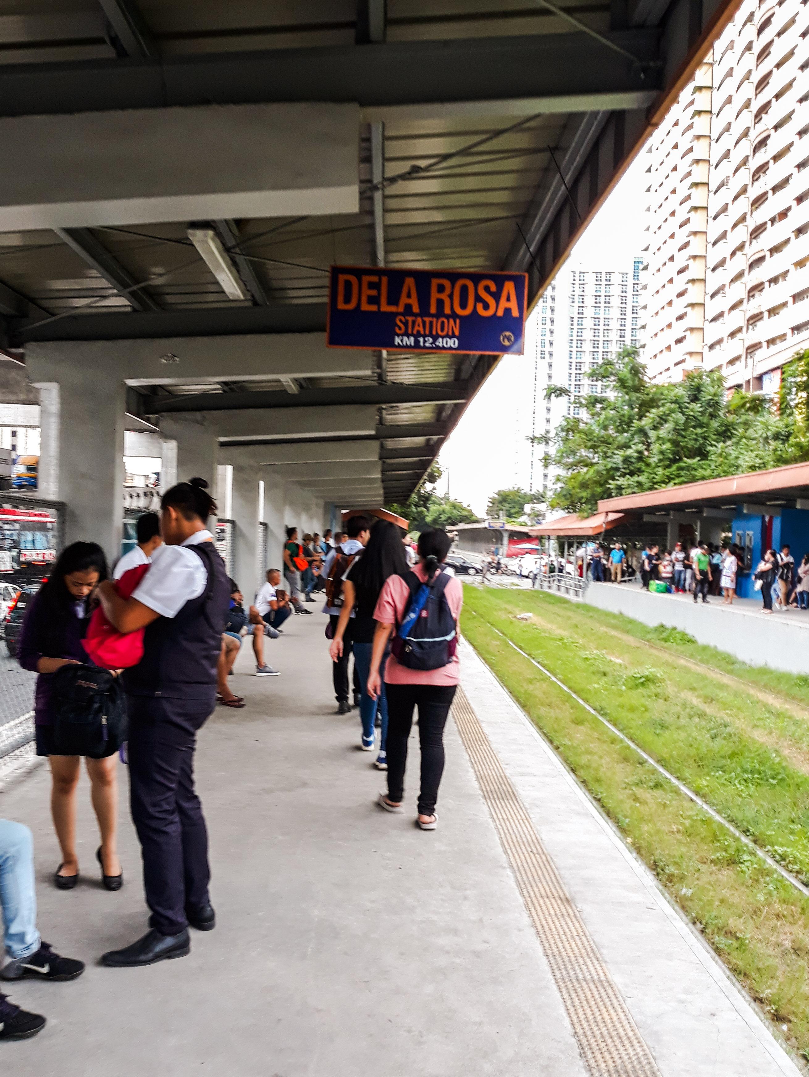 PNR Dela Rosa Makati Train Staion