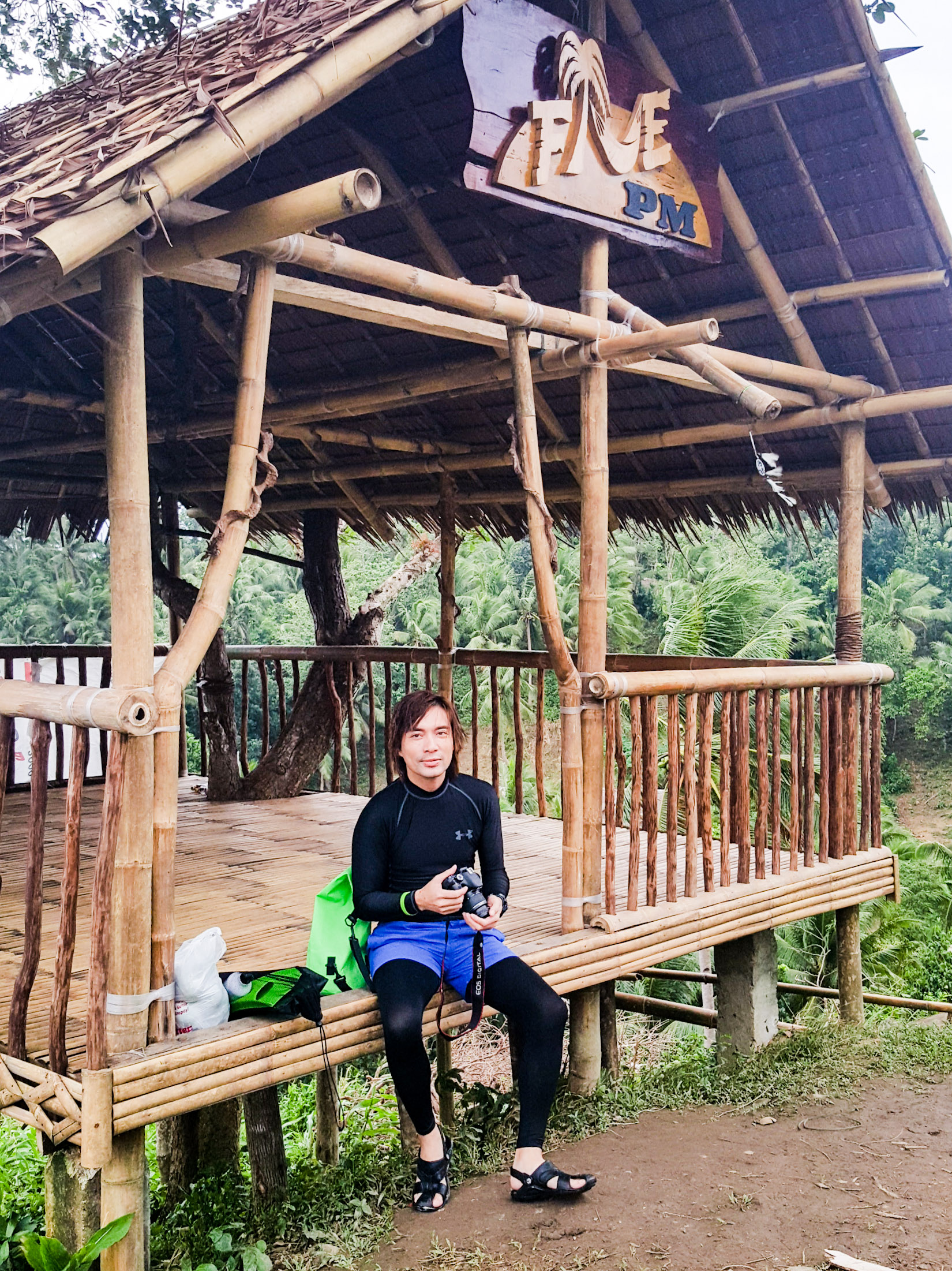 Five PM Viewing Deck, Carabao Island, Romblon