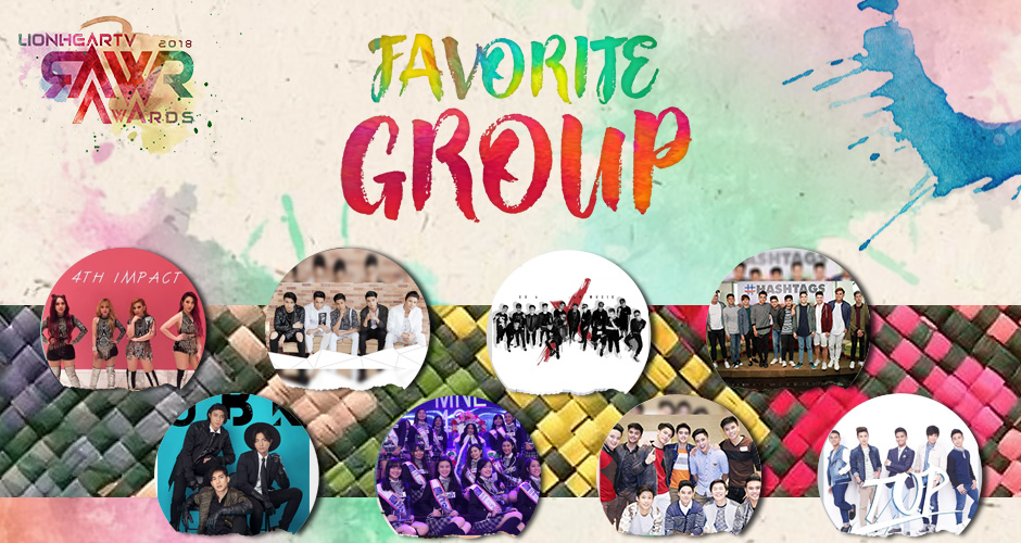 RAWR Awards Favorite Group Award
