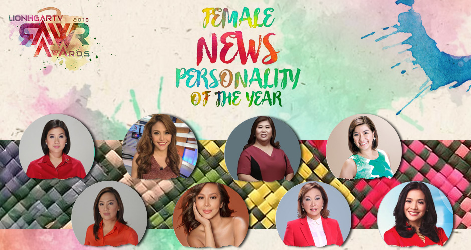 RAWR Awards Female News Personality of the Year Award