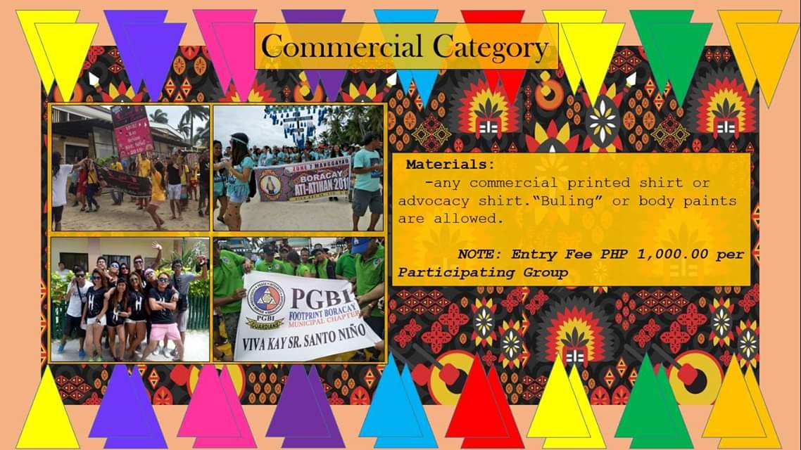 Boracay Ati-Atihan 2019 Commercial Category