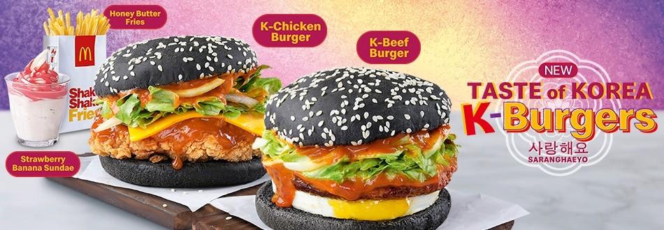 McDonald's K-Burgers